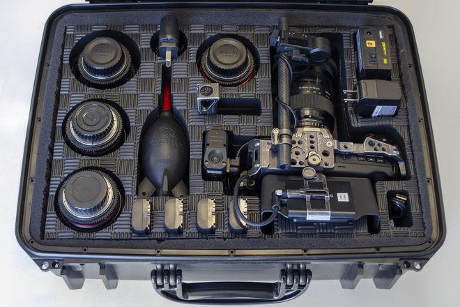 Blackmagic Design Pocket Cinema Camera 4K Kit w/Lenses