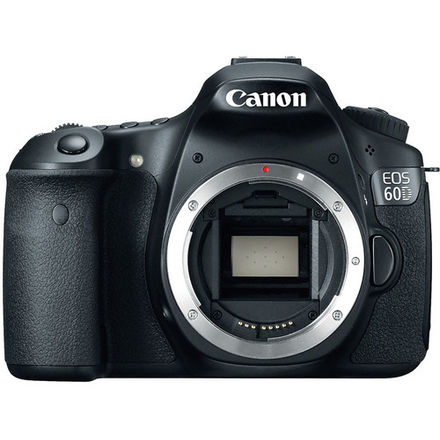 Canon EOS 60D with 2 lens and 2 batteries