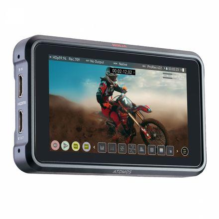 """Atomos Ninja V 5"""" 4K Recording Monitor ProRes RAW 2x250GB"""