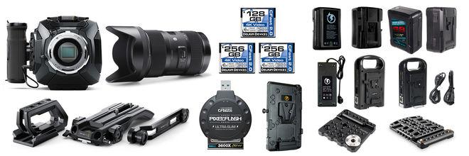 "Blackmagic URSA Mini 4K ""La Vie Boheme"" Camera Package"
