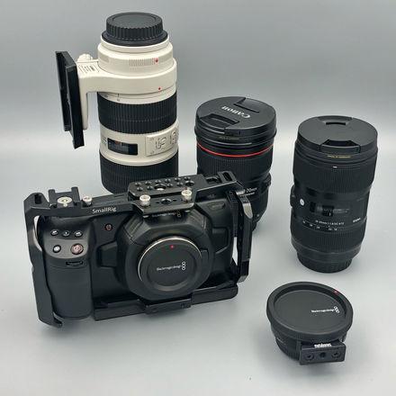 Blackmagic Design Pocket Cinema Camera 4K KIT