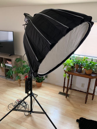 Aputure LS C120D II & Light Dome II