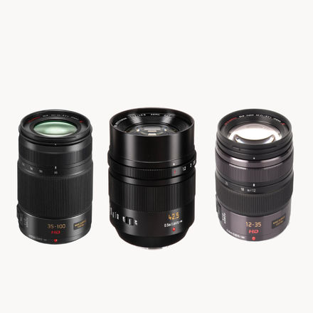 Zooms + 42.5 Leica lens Package
