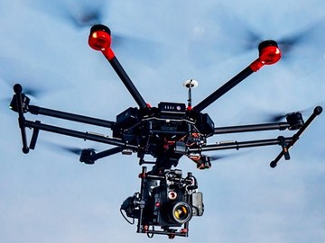 Rent: Matrice 600 Drone w/ X5R Raw or Fly your RED,AlexaMini,DSLRs