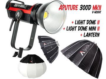 Aputure 300d II w/ 3 modifers