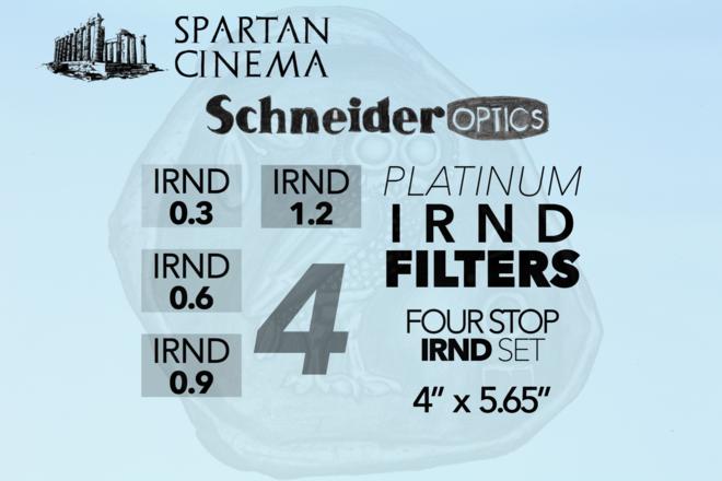 4x Schneider 4x5.65 Platinum IRND Filters (0.3 - 1.2) #1