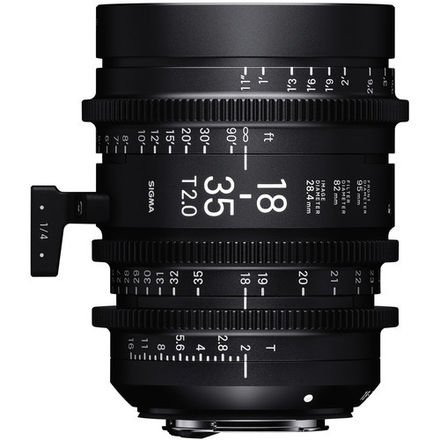 Sigma 18-35mm and 50-100mm T2 High Speed Cine Zoom EF Lenses