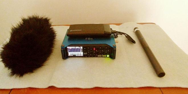 Zoom F8n Field Recorder Kit