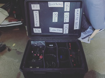 Rent: Atomos Shogun/Rokinon Kit/A7s Camera Cage/Brick Battery etc.