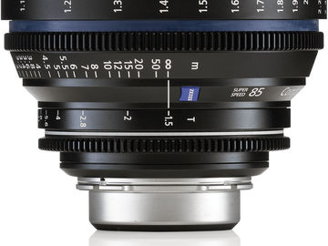 Rent: Zeiss Compact Prime CP.2 85mm/T1.5 Super Speed PL Mount‎