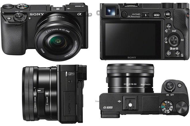 Sony Alpha a6000 w/ Lens Kit (Sony, Sigma) + Gimbal