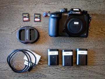 Panasonic Lumix DC-GH5 w/ V-Log, Batteries, Cards