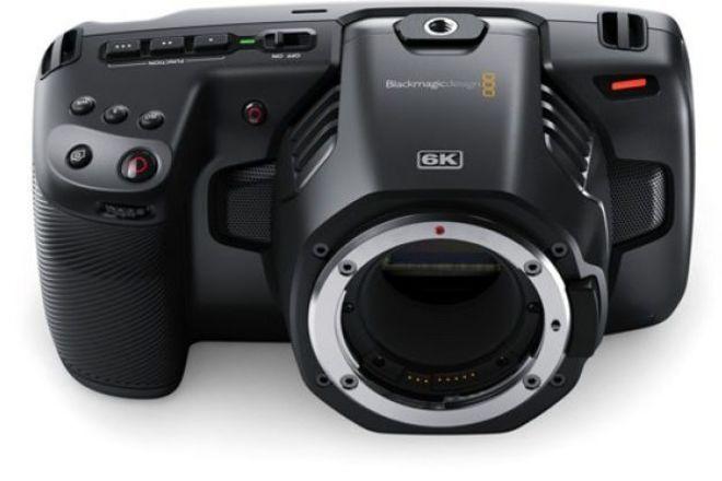 Blackmagic Pocket Cinema Camera 6K (Basic Package)