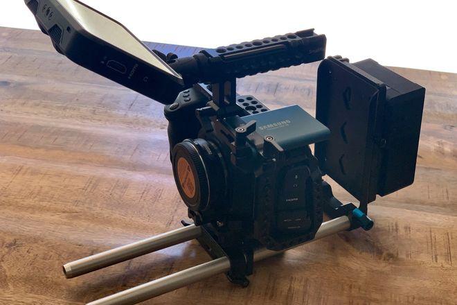 Blackmagic Pocket Cinema Camera 4K (Shooter Package)