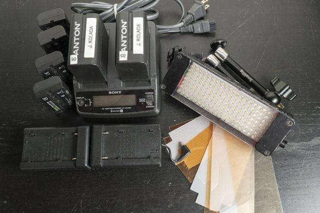 Litepanels On-Camera Daylight LED Flood w/ Sony L-Series