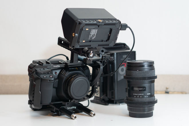 Blackmagic Design Pocket Cinema Camera 4K, SB, 18-35, V-Mnt