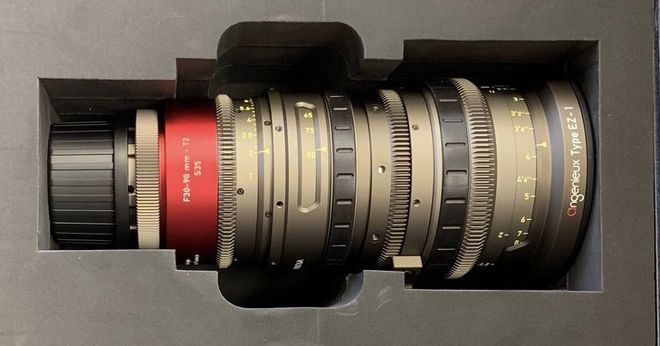 Angenieux EZ-1 S35 30-90mm T2 Cinema Lens