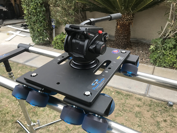 Rent: DANA DOLLY - FULL KIT (Rails, Track Ends & Stands)