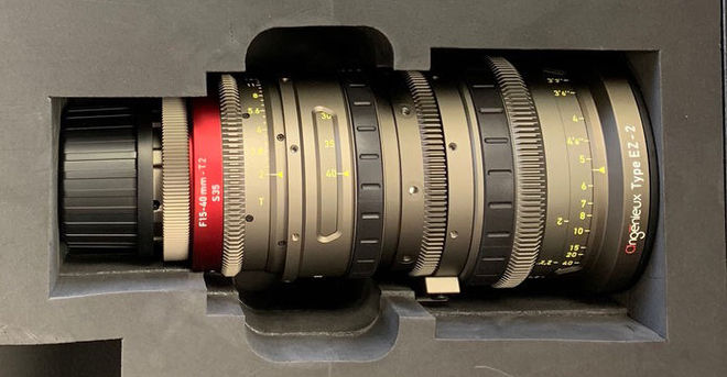 Angenieux EZ-2 S35 15-40mm T2 Cinema Lens