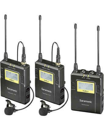 Saramonic UwMic9 2-Person Wireless Omni Lavalier