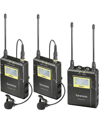 Saramonic UwMic9 2-Person Wireless Omni Lavalier