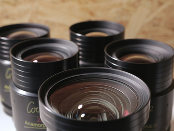 Rent: COOKE ANAMORPHIC | 2 Lens Set