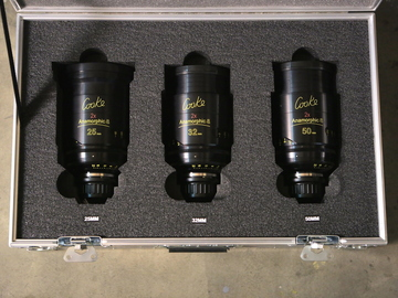 Rent: COOKE ANAMORPHIC | 3 Lens Set