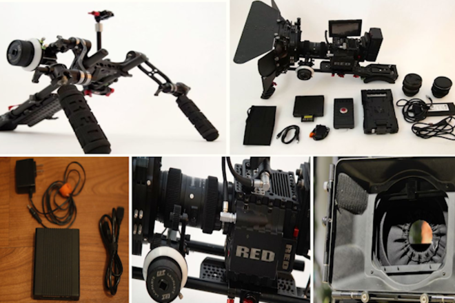 RED Epic 5K, Mattebox, Zoom Lens, Handheld Rig + Extras ! !