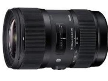 Rent: 18 - 35mm Sigma T1.8 Canon EF Mount