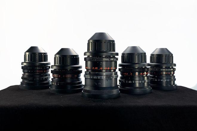 Zeiss B-Speed Lens Set (18mm, 25mm, 35mm, 50mm, 85mm)