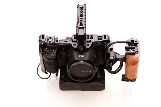 6K Blackmagic Cinema Cam - Full Rig/ 2TB SSD/ 5 Hour Battery