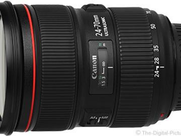 Rent: 24 - 70mm II T2.8 Canon EF mount