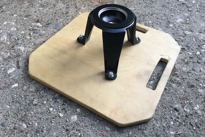 100mm hi hat with board
