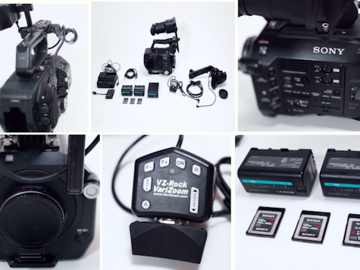 Sony FS7 S35 Camera / EF Metabones / 3 Batteries / XQD Cards
