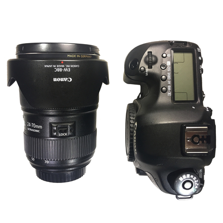 Canon 5D Mark III + 24-70mm Zoom Lens