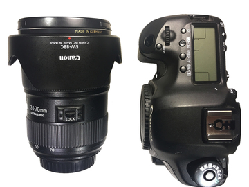 Rent: Canon 5D Mark III + 24-70mm Zoom Lens