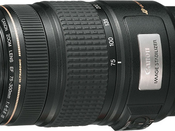 Rent: Canon EF 75-300mm f/4-5.6 IS USM TELEPHOTO ZOOM Lens