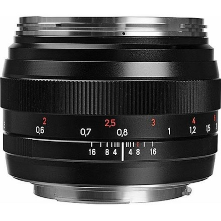 Zeiss 50mm f/1.4 ZE Planar T* Lens for Canon EF Mount
