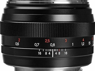Rent: Zeiss 50mm f/1.4 ZE Planar T* Lens for Canon EF Mount