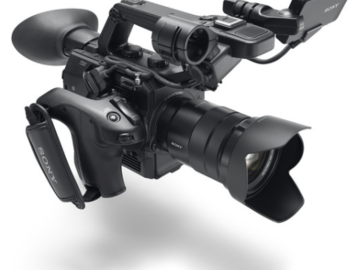 Rent: Sony FS 5 with lens kit