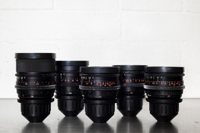 Zeiss Super Speed Mark II Lens Set