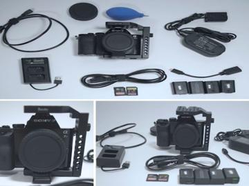 Sony A7S EF Mount (Records 4K with Atomos Shogun)