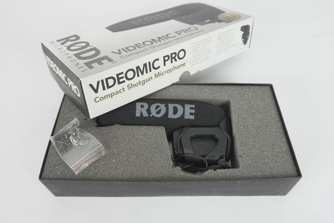 Rode VideoMic Pro Compact On-Camera Shotgun Microphone