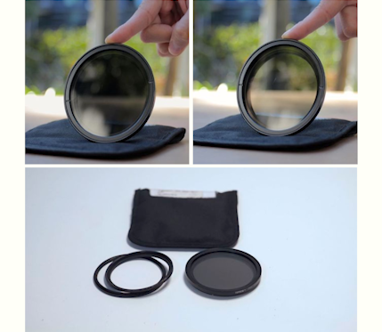 Tiffen  77mm Variable Neutral Density Filter (2 OUT OF 2)