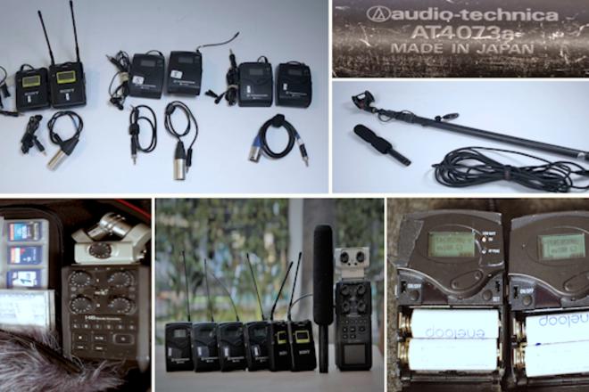 3 Lavs (G3), One Boom (Audio Technica), & H6 Zoom