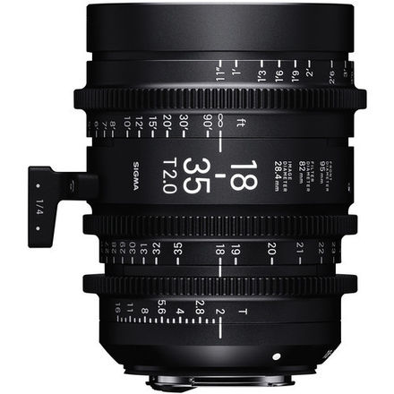 Sigma Cine Zooms 18-35mm T2.0 and 50-100mm T2.0