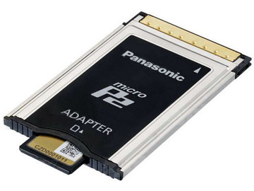 Rent: Pansonic micro P2 card adapter