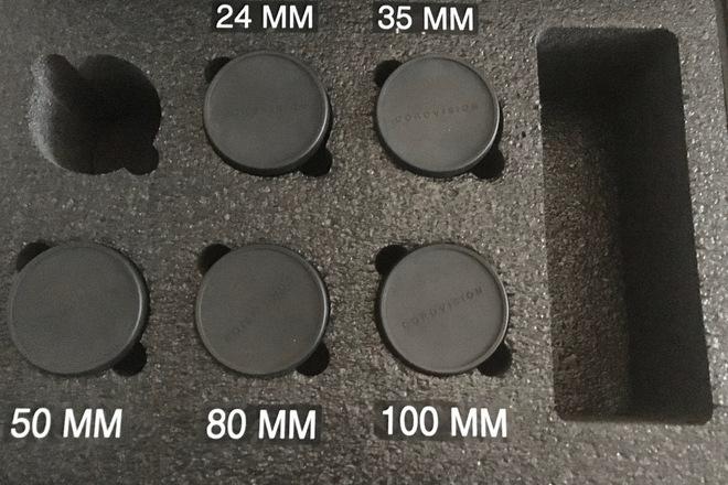 Leica R Cine Mod 5-Lens Speed EF Set (24,35,50,80,100)