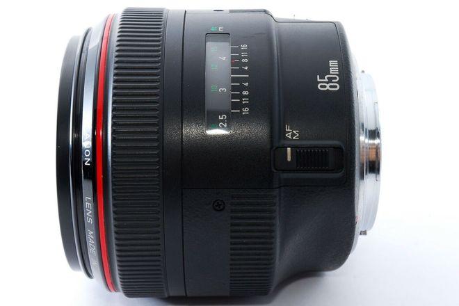Canon EF 85mm f/1.2 L USM