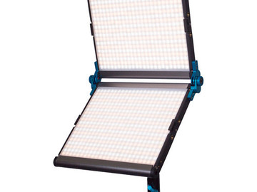 Rent: Dracast 1000 Silver Series Foldable Bi-Color LED Light, Batt